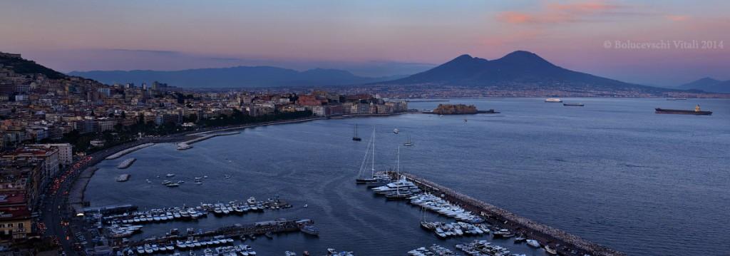 Неаполь, Везувий, Италия