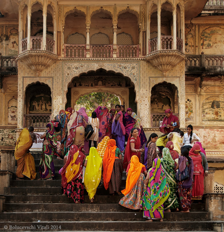 Джайпур, дворец обезьян